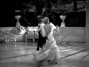 Fred Astaire And Ginger Rogers In Top Hat 1935 This Moment In Dancing Cheek Gfycat