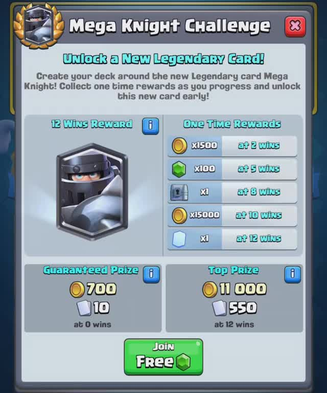 Watch and share Clash Royale GIFs and Mega Knight GIFs by wondroushippo on Gfycat