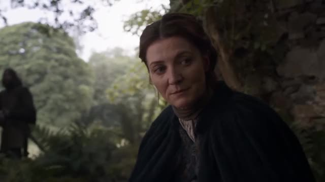 Catelyn Stark hit with rock GIF   Find, Make & Share Gfycat GIFs