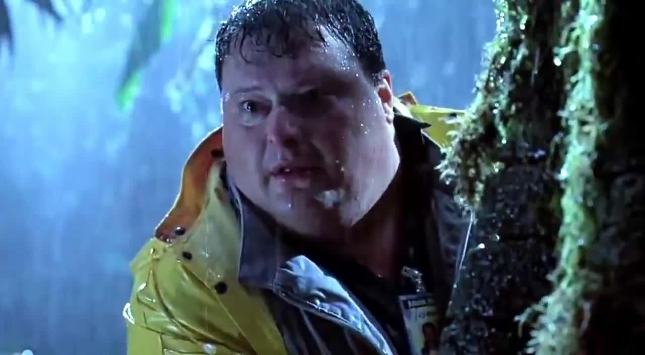 Fat guy jurassic park