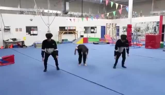 Watch AMAZING GYMNASTICS TRICKS! GIF on Gfycat. Discover more related GIFs on Gfycat