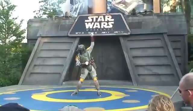 Watch and share Boba Fett Star Wars GIFs on Gfycat