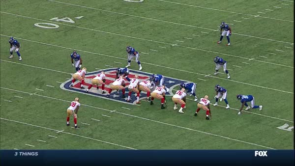 Watch and share SF 2014 @NYG - Kaep Sacked 1.2 GIFs by wafflehaus on Gfycat