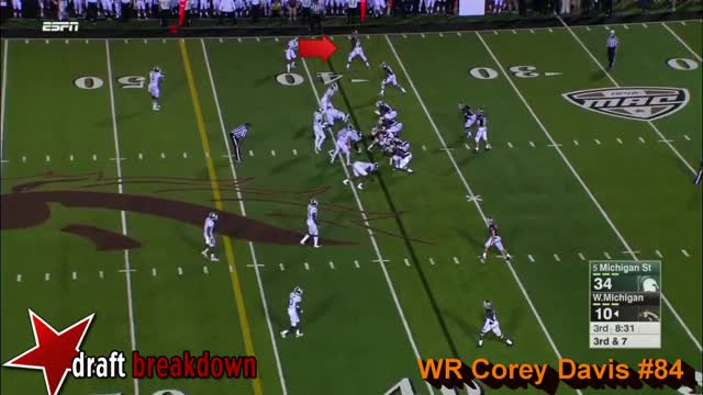 Watch Corey Davis vs. Michigan State (2015) GIF on Gfycat. Discover more related GIFs on Gfycat