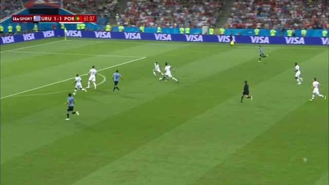 Watch Uruguay vs Portugal 2-1 Edison Cavani GOAL GIF on Gfycat. Discover more related GIFs on Gfycat