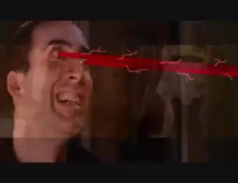 Watch this nick cage GIF on Gfycat. Discover more nick cage, nicolas cage, nicolas cage lasers GIFs on Gfycat