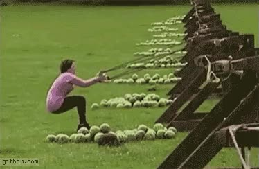 Watch and share Watermelon Slingshot. That's Gonna Leave A Mark.. GIFs on Gfycat