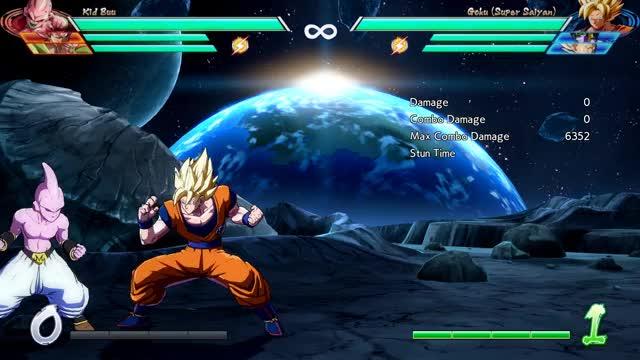 Watch and share Goku - Corner - 2M Into 1-Super X2 (BnB) - 6151 Damage GIFs by robro on Gfycat