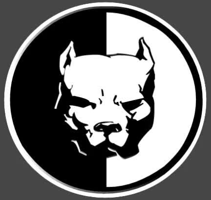 Watch and share Pitbull (Profile) GIFs on Gfycat