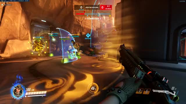Watch and share Overwatch GIFs by captaincola64 on Gfycat