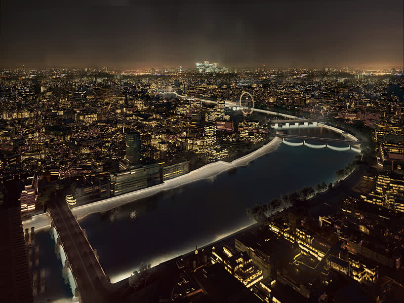 adjaye & DS+R propose designs for london's illuminated river GIFs
