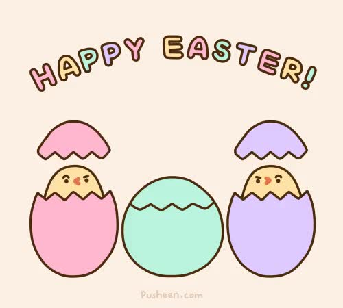 Watch this easter GIF by The GIF Smith (@sannahparker) on Gfycat. Discover more cat, cats, easter, easter eggs, happy easter, pusheen, pusheen cat, pusheen the cat GIFs on Gfycat