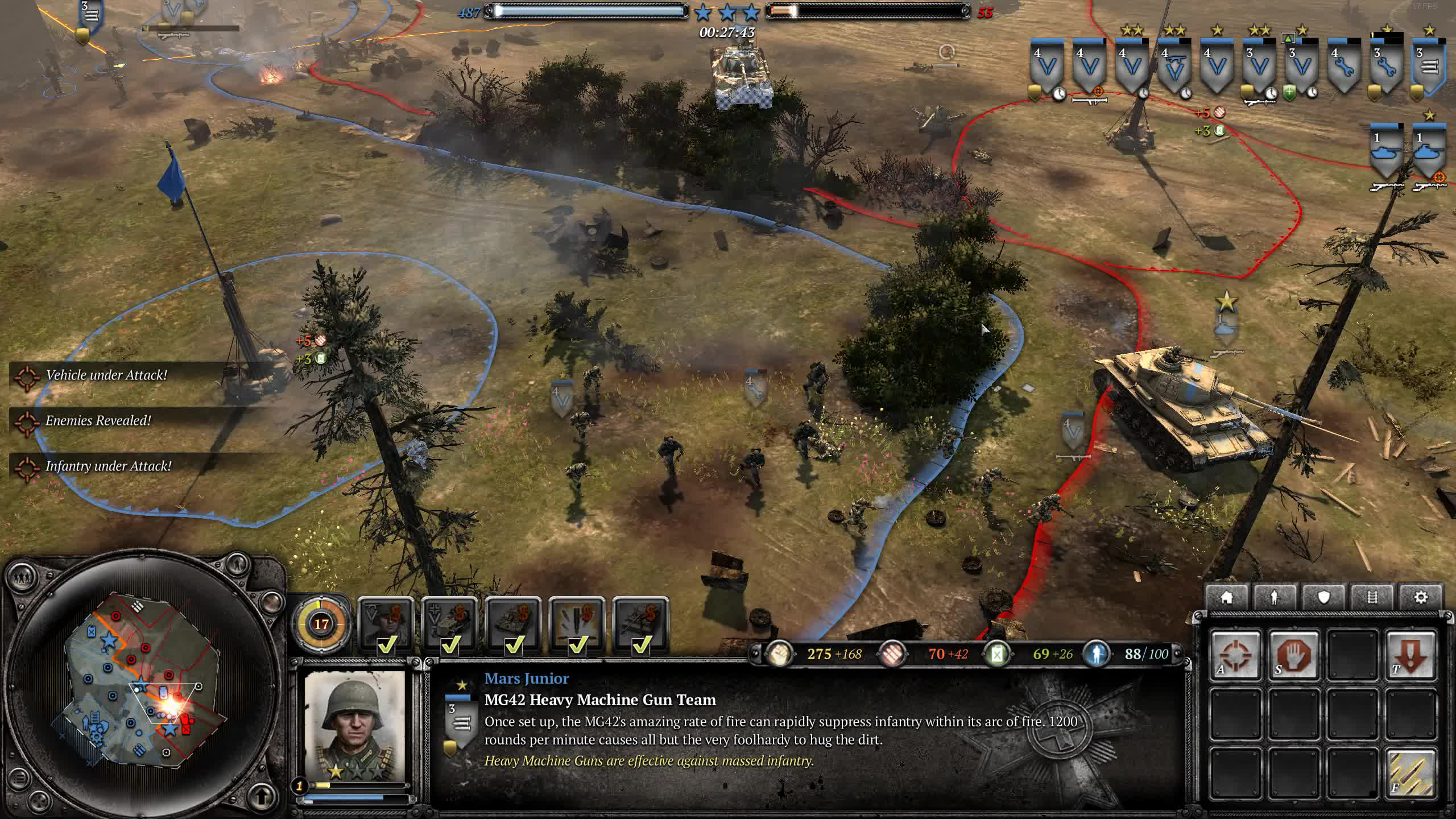 CompanyOfHeroes, coh2, panther, panzer, Flying Tanker GIFs