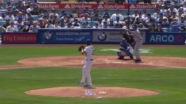 Watch and share Clayton Kershaw Weird Pitch Vs Austin Hedges GIFs by enosarris on Gfycat