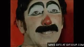 Watch and share The Day The Clown Cried - Scary Clown GIFs on Gfycat