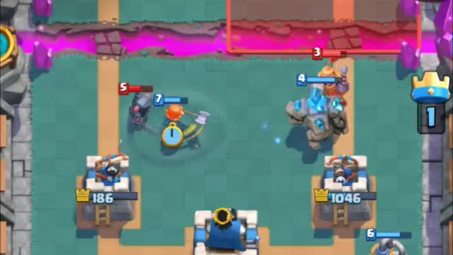 Watch and share Golem Double Prince Crazy GIFs by Clash Royale Kingdom on Gfycat