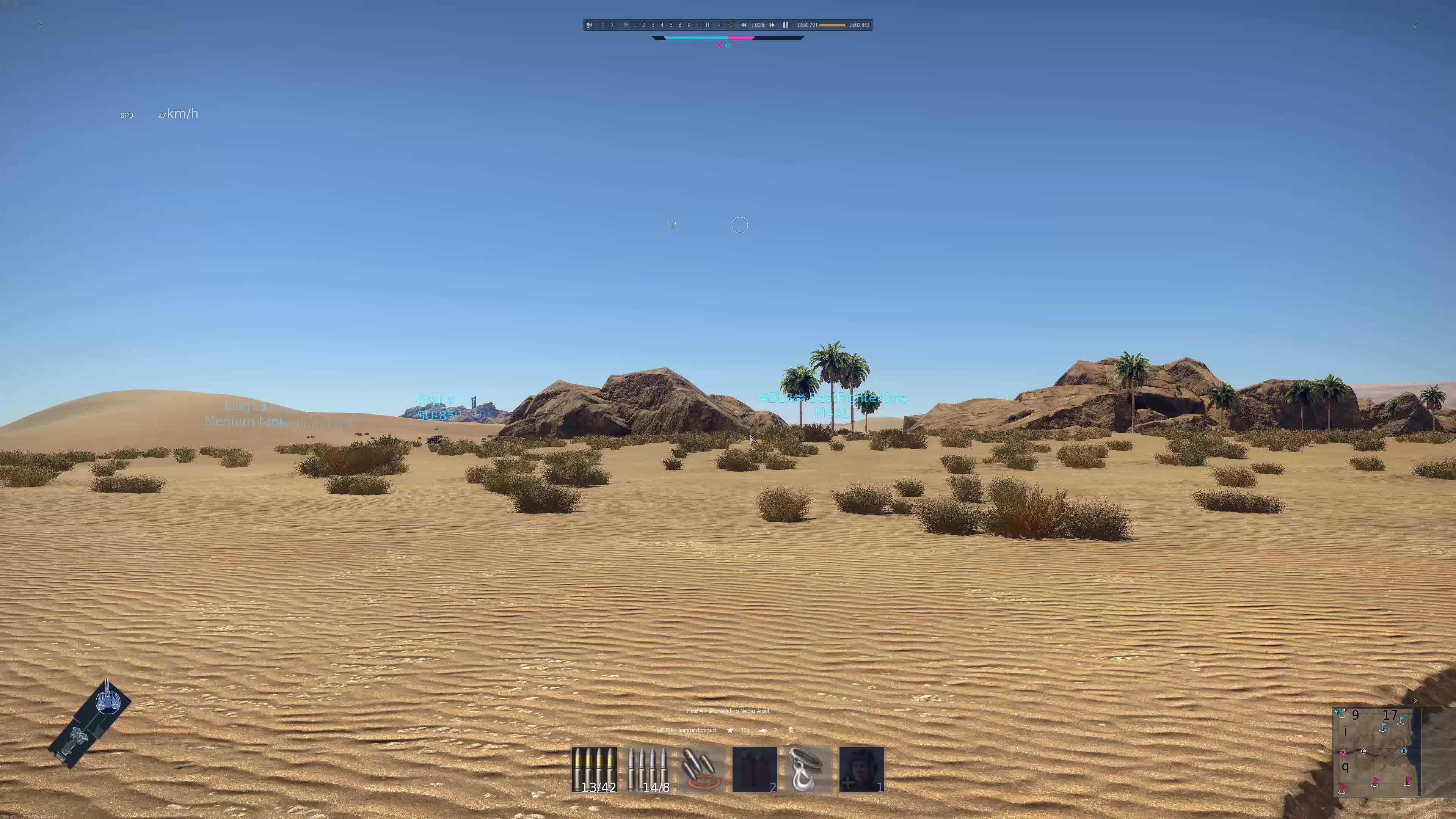 notonestepbackcomrade, warthunder, Warthunder - Tank simulator - Point of No Return GIFs
