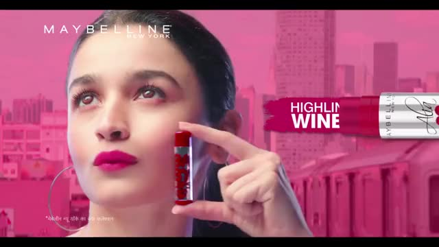 Get the Alia Loves New York Baby Lips Collection! | Hindi TVC