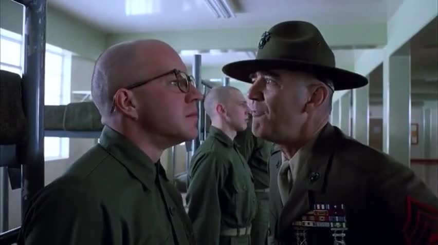 fullmetaljacket, I didn't know they stacked shit that high GIFs