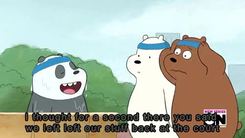 Watch Hira GIF on Gfycat. Discover more Grizz, gif, grizzly, ice bear, panda, we bare bears GIFs on Gfycat