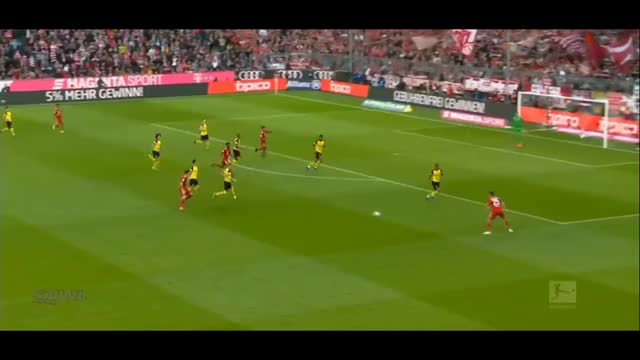 Watch and share Muller Cross And Gnabry Header Goal Vs Dortmund 18.19 GIFs by FIFPRO Stats on Gfycat
