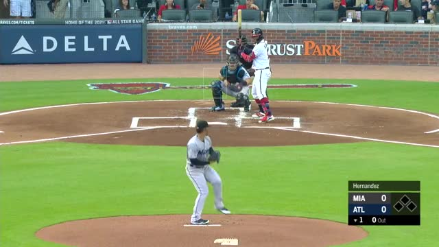 Watch and share Atlanta Braves GIFs and Miami Marlins GIFs by handlit33 on Gfycat