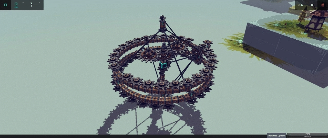 besiege, watches, I made a triple-axis tourbillon. (reddit) GIFs