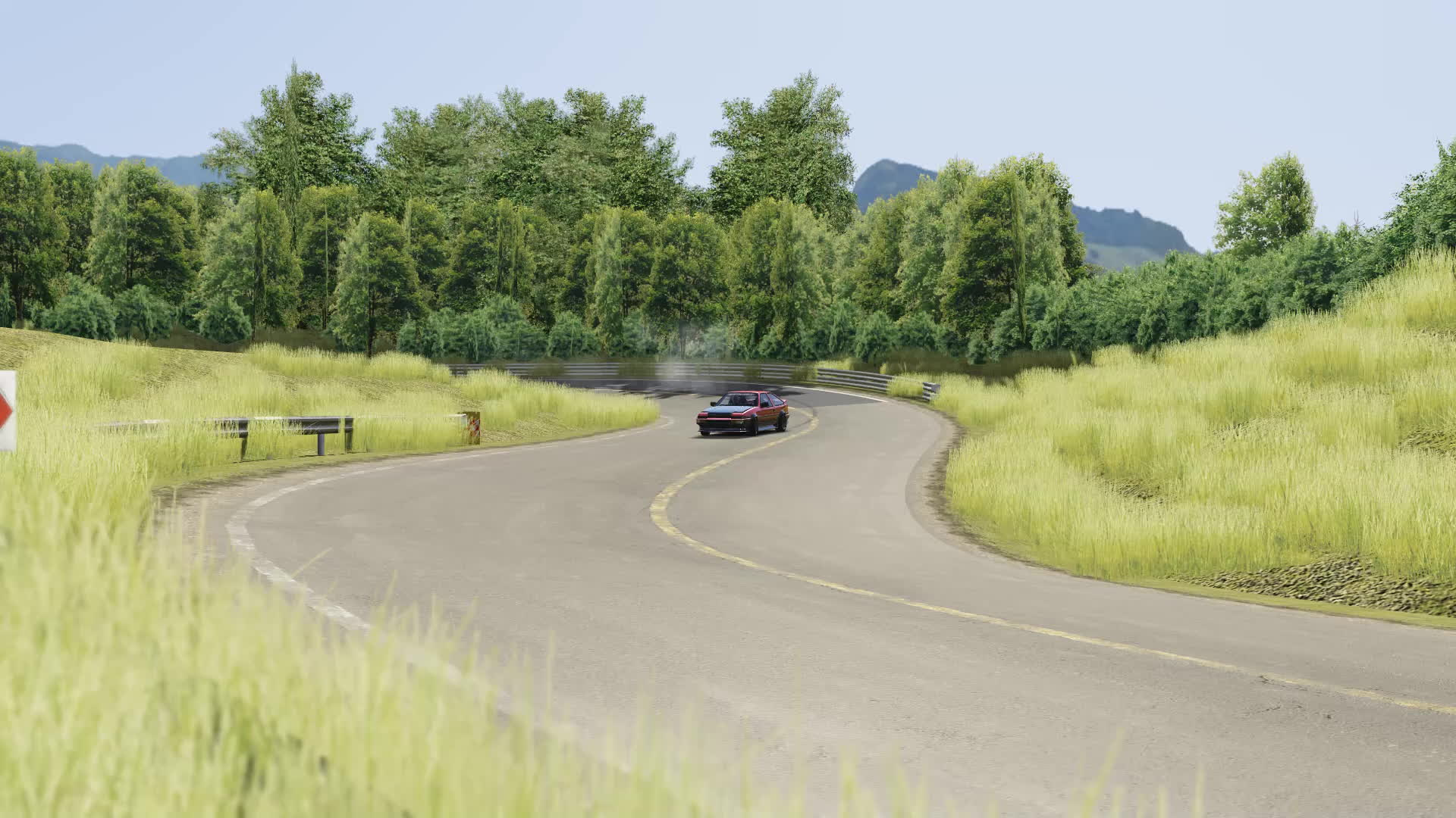 Assetto Corsa - AE86 on the outer lane GIFs
