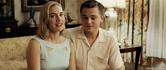 Watch and share Leonardo Dicaprio GIFs and Kate Winslet GIFs on Gfycat