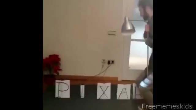 Watch Pixar Lamp GIF on Gfycat. Discover more clumsy, dank, dankest, emisoccer, freememeskids, funny, hefty, knuckles, meme, memes, pewdiepie, spaghet GIFs on Gfycat