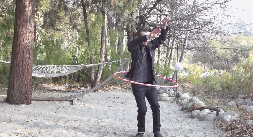 seananners, Nanners and Sark hula hooping (in slo-mo) (reddit) GIFs