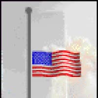 Watch and share Subway Cars New York Emoticon Emoticons Animated Animation Animations Gif Photo: 911 September 11th Flag Half Mast Memory Never Forget Twin Towers New York City  Emoticon Emoticons Animated Animation Animations Gif Patriotic6.gif GIFs on Gfycat