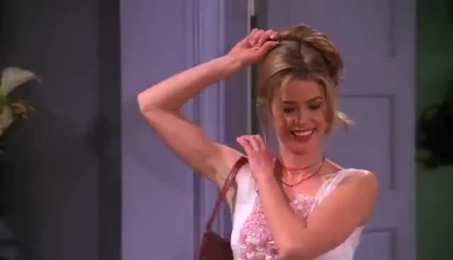 Watch and share Denise Richards GIFs and Chandler Bing GIFs on Gfycat