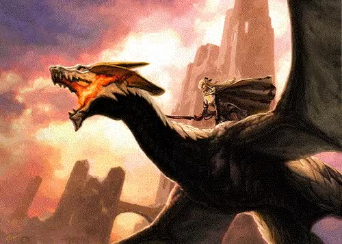 Watch and share Dragon Rider GIFs on Gfycat