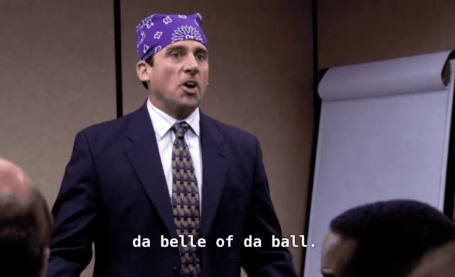 Watch this michael scott GIF by Pete Brown (@pauljonesb) on Gfycat. Discover more bell of the ball, celebs, da belle of da ball, michael scott, season 3, steve carell, the convict, the office GIFs on Gfycat