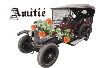 Watch and share Amitié - Voiture - Rétro - Gif Scintillant - Gratuit animated stickers on Gfycat