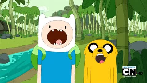 Watch and share Adventure Time, Whut, Wow, Jaw Drop, Finn And Jake GIFs on Gfycat