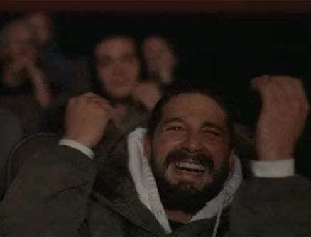 Watch and share Shia Labeouf GIFs and Slow Clap GIFs by Reactions on Gfycat