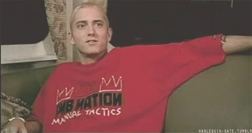 Watch and share Marshall Mathers GIFs and Slim Shady GIFs on Gfycat