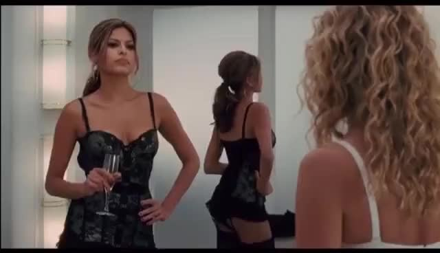 Watch Eva Mendes Lingerie GIF on Gfycat. Discover more related GIFs on Gfycat