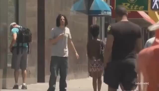 Watch Eric Andre - Public Scalping GIF on Gfycat. Discover more related GIFs on Gfycat