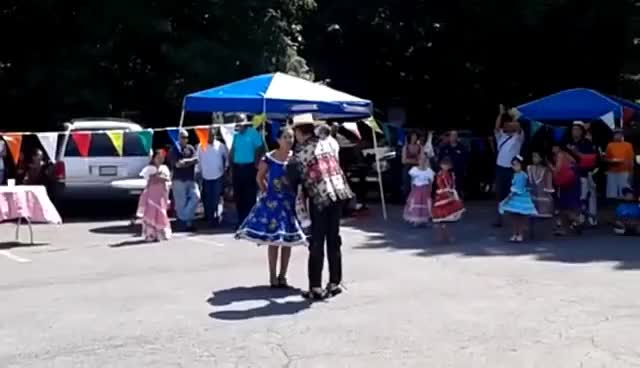 Watch and share Cueca Dance From Chile GIFs on Gfycat