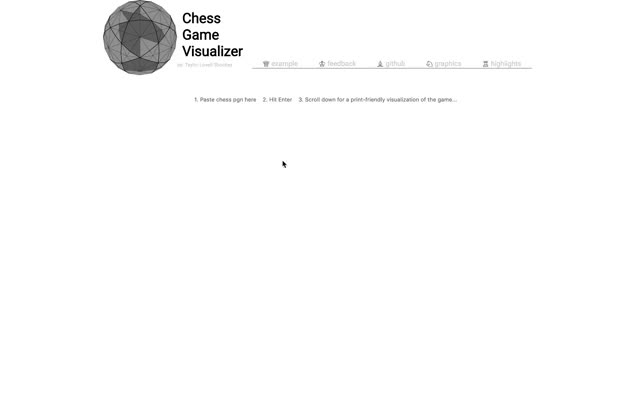Watch and share Chess Game Visualizer: Running The Example. GIFs by xen0phobe on Gfycat