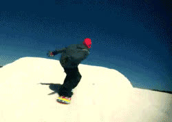 Skiing mishaps GIFs