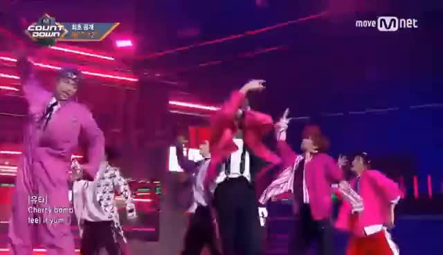 Watch and share [NCT 127 - Cherry Bomb] Comeback Stage GIFs on Gfycat