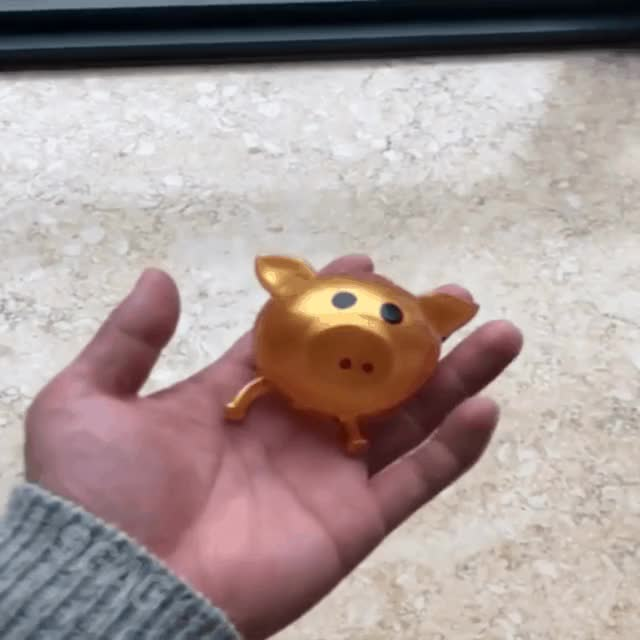 Watch squishy gold pig pop GIF by Antishay (@antishay) on Gfycat. Discover more Funny GIFs on Gfycat