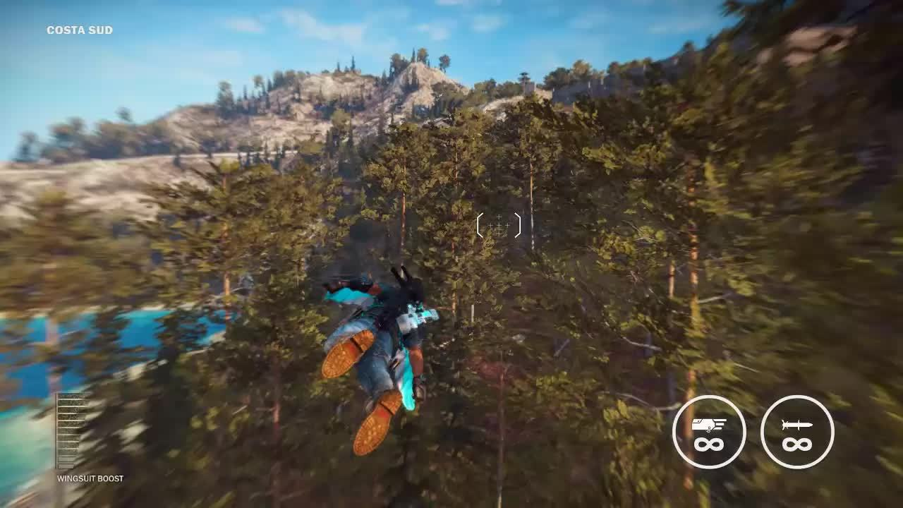60fpsgaminggifs, [Just Cause 3] - Jetpack Freestyle GIFs