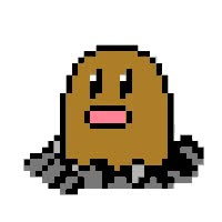 Watch and share Diglett - Dig GIFs on Gfycat
