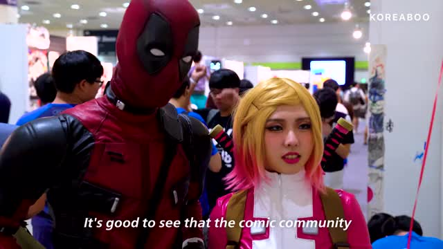 Watch and share Comic Con Seoul GIFs by Koreaboo on Gfycat