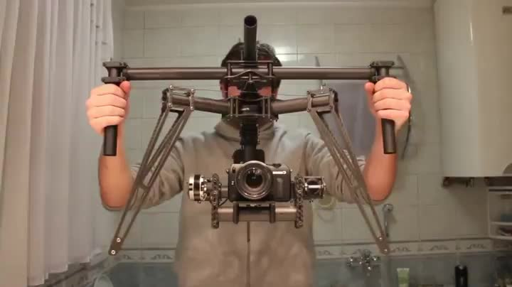 How effective a camera stabilizer can be GIFs